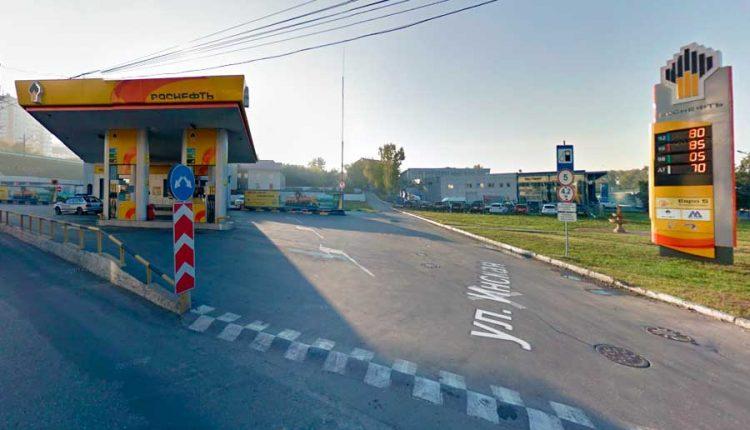 АЗС Роснефть Новосибирск