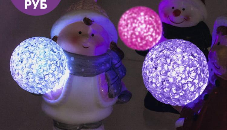НОВИНКА! ️Настольный новогодний светильник длиной 12 см привнесет