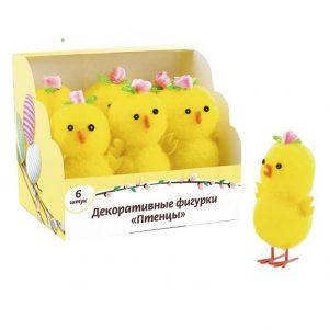 "Декоративные фигурки ""Птенцы"", 6 шт"