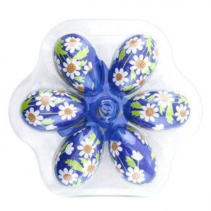 Яйца декоративные пасхальные, 6 шт