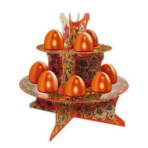 Декоративная подставка для яиц, 28х22х0,5 см