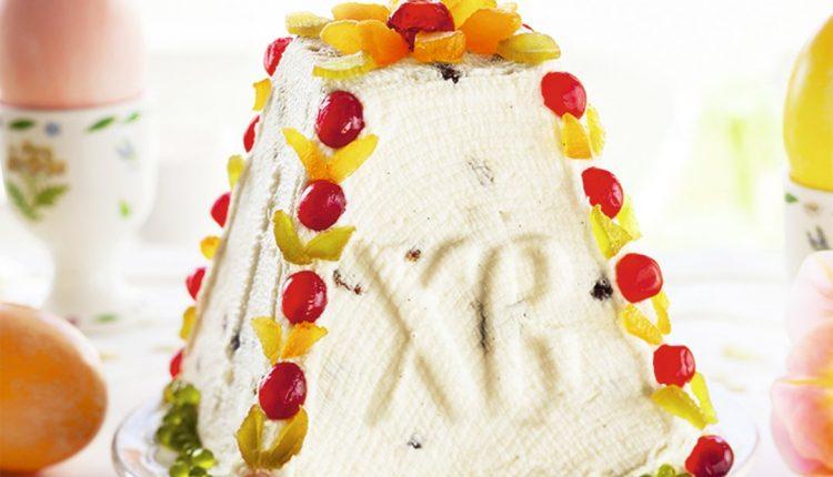 ️Творожная пасха – неотъемлемый атрибут праздничного стола на