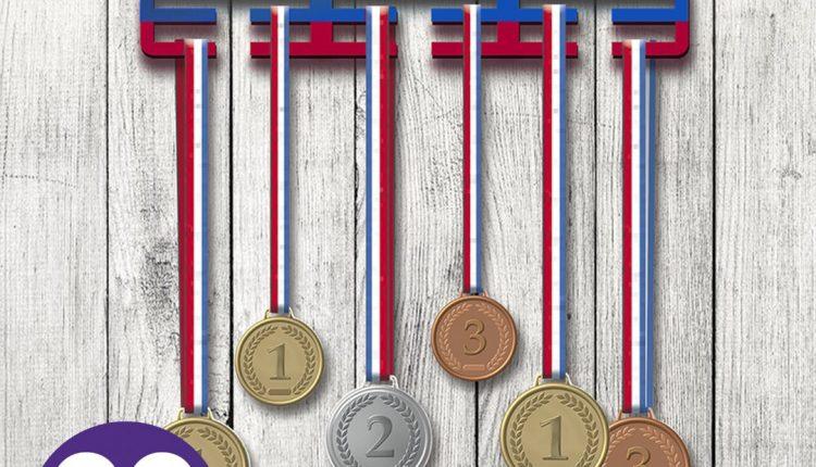 НОВИНКА! Медальница – это не только удобный способ