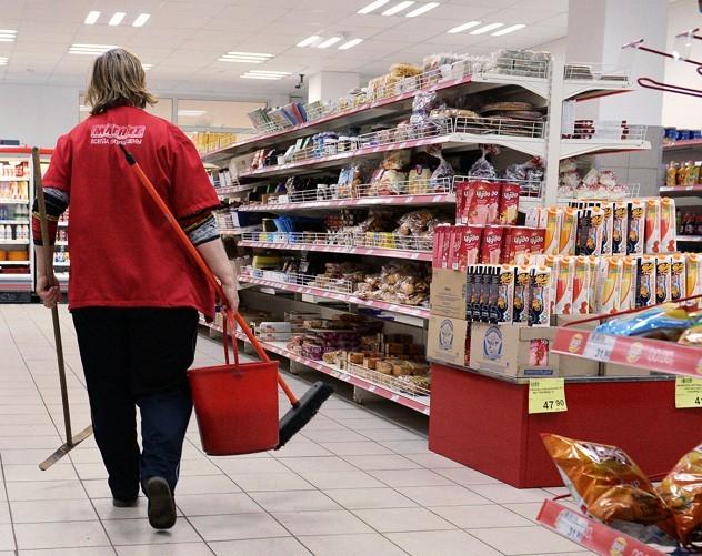 Работа уборщицей в магазине Магнит