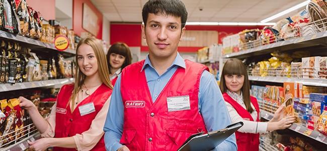 Работа в магазине Магнит